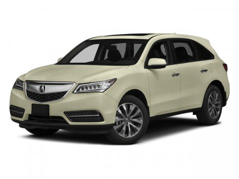 2014 Acura MDX Tech Pkg White Diamond PearlParchment V6 35 L Automatic 27615 miles AWD Low m