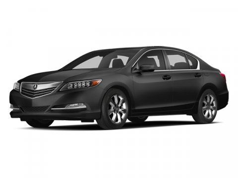 2014 Acura RLX Crystal Black Pearl V6 35 L Automatic 42763 miles  Front Wheel Drive  Power S