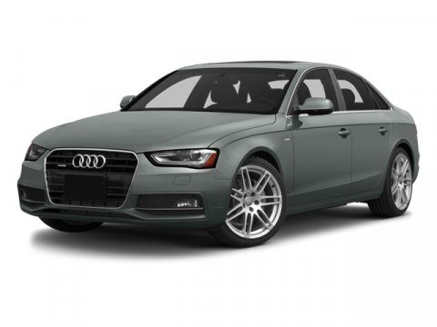 2014 Audi A4 Premium Monsoon Gray MetallicBLACK V4 20 L Variable 0 miles  Turbocharged  Front