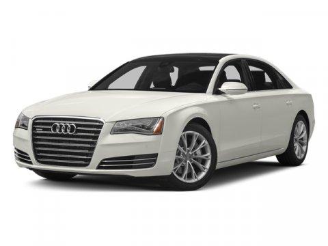 2014 Audi A8 L 30T L Quattro Ice Silver MetallicPlatinum V6 30 L Automatic 42478 miles No De