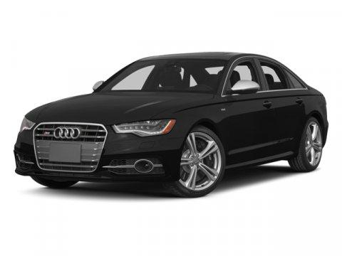 2014 Audi S6 Prestige Havanna Black MetallicBlack V8 40 L Automatic 28566 miles CERTIFIED PRE