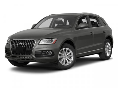 2014 Audi Q5 Premium Plus Glacier White Metallic V6 30 L Automatic 5 miles  Turbocharged  All