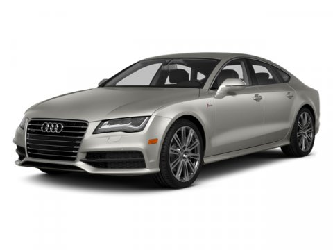 2014 Audi A7 30 Prestige Glacier White Metallic V6 30 L Automatic 5 miles  Supercharged  All