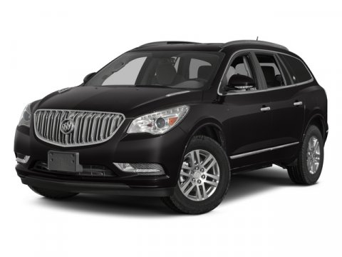 2014 Buick Enclave Leather Carbon Black MetallicEbony V6 36L Automatic 1 miles  CARBON BLACK M