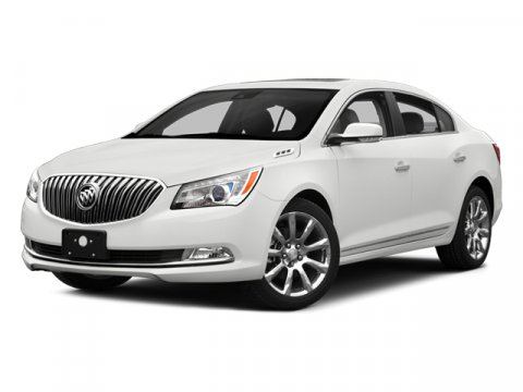 2014 Buick LaCrosse Leather White V6 36 Automatic 26412 miles  ABS  4-Wheel Disc Brakes  Tir