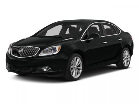 2014 Buick Verano Leather Group Carbon Black Metallic V4 24L Automatic 33 miles  Front Wheel D