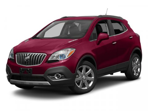 2014 Buick Encore Premium Ruby Red MetallicEbony V4 14 Automatic 5 miles  AUDIO SYSTEM WITH NA