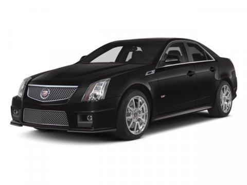 2014 Cadillac CTS-V Appearance Pkg 4D Sedan V8 Super White Diamond Tricoat V8 62L Automatic 81