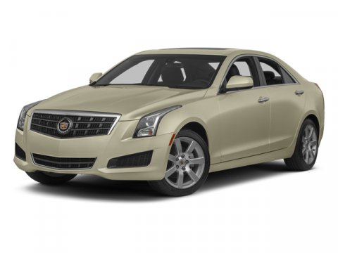 2014 Cadillac ATS AWD I4 20L Premium Collection White Diamond TricoatLight Platinum wBrownstone