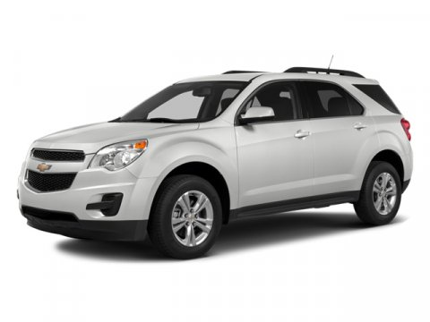 2014 Chevrolet Equinox 1LT Front-wheel Drive Sport Util Summit WhiteJet Black
