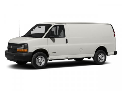 2014 Chevrolet Express Cargo Van Summit WhiteMedium Pewter V8 60L Automatic 5 miles  AUDIO SYS