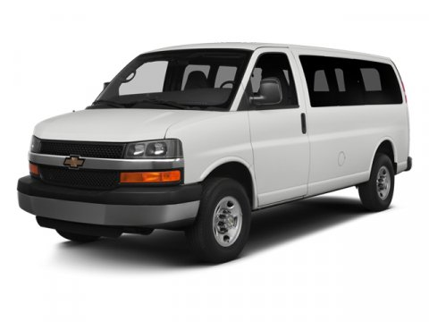 2014 Chevrolet Express 3500 1LT 15 Passenger RWD WhiteTan and Gray V8 60L Automatic 41037 mile