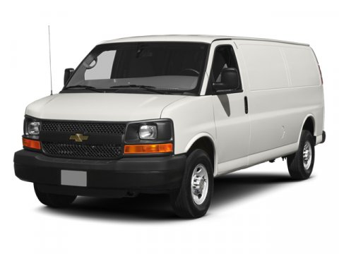 2014 Chevrolet Express Cargo Van Summit White93IMED PEWTER V8 60L Automatic 3 miles  Power Do