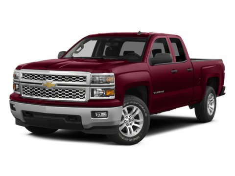 2014 Chevrolet Silverado 1500 1LT 4x2 Double Cab 66 ft box 1 Blue Topaz MetallicJet Black V6 4