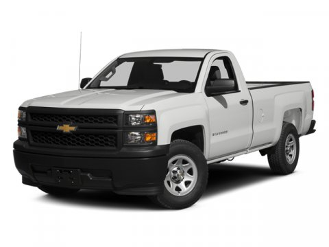 2014 Chevrolet Silverado 1500 Work Truck Silver Ice MetallicJET BLACK  DARK A