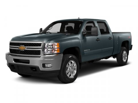 2014 Chevrolet Silverado 2500HD LT 4x4 Crew Cab 66 ft box 153 Silver Ice MetallicEbony V8 60L