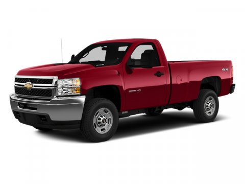 2014 Chevrolet Silverado 2500HD Work Truck 4x4 Regular Cab 8 ft Silver Ice MetallicDark Titanium