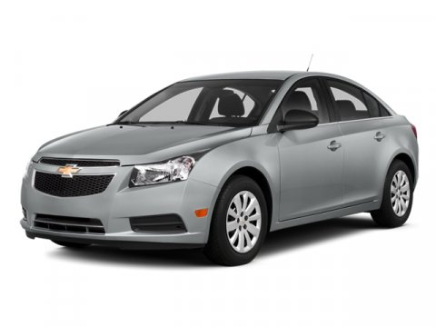 2014 Chevrolet Cruze LS Auto 4dr Sedan Silver Ice MetallicJet BlackMedium Tit
