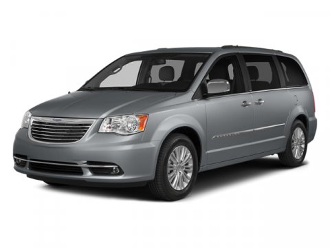 2014 Chrysler Town  Country Touring Maximum Steel Metallic ClearcoatDk Frost BeigeMed Beige V6