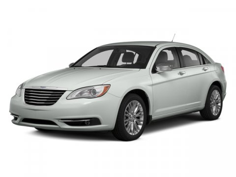 2014 Chrysler 200 Touring Bright White ClearcoatGray V6 36 L Automatic 42500 miles  Body-Colo