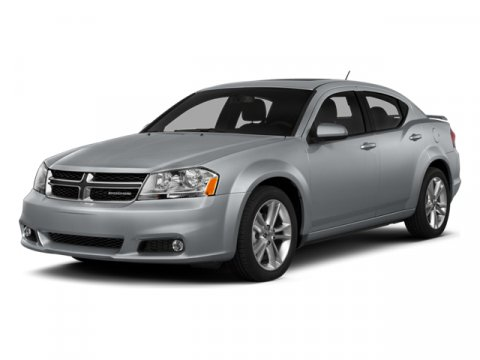 2014 Dodge Avenger SE Red V4 24 L Automatic 33840 miles  Front Wheel Drive  Power Steering