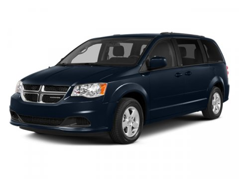 2014 Dodge Grand Caravan Brilliant Black Crystal Pearlcoat V6 36 L Automatic 1 miles  Front Wh
