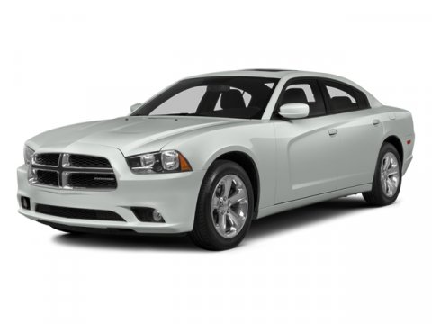 2014 Dodge Charger White V8 57 L Automatic 1 miles  Rear Wheel Drive  Power Steering  ABS