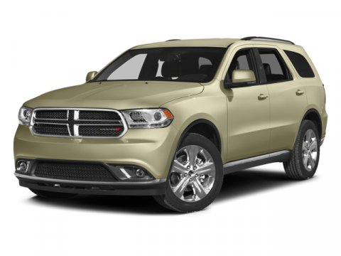 2014 Dodge Durango SXT Bright White Clearcoat V6 36 L Automatic 750 miles  Rear Wheel Drive