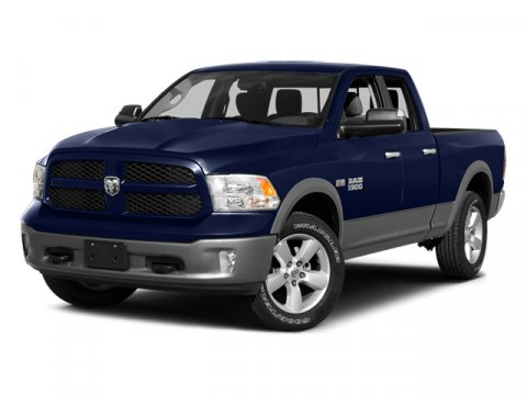 2014 Ram 1500 SLT Pcl Blue Stre V8 57 L Automatic 36770 miles  Four Wheel Drive  Power Steer
