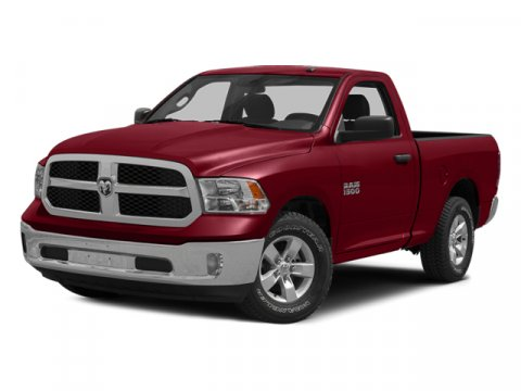 2014 Ram 1500 Red V8 57 L Automatic 58346 miles  Rear Wheel Drive  Power Steering  ABS  4-