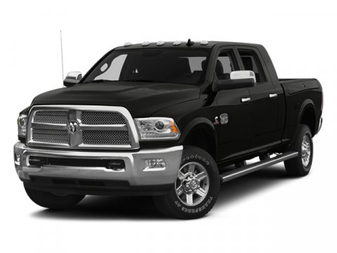 2014 Ram 2500 Longhorn Black ClearcoatLt Frost BeigeBrown V6 67 L Automatic 8 miles  ANTI-SPI