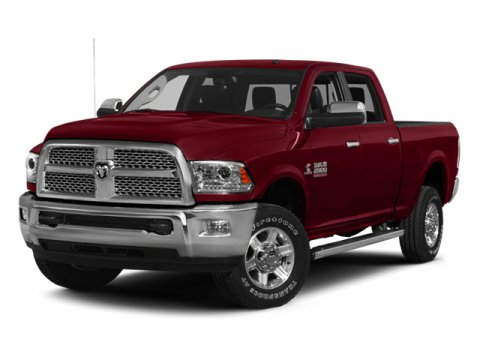 2014 Ram 2500 Laramie Deep Cherry Red Crystal PearlcoatLt Frost BeigeBrown V6 67 L Automatic 5