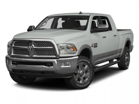 2014 Ram 3500 Laramie Bright White Clearcoat V6 67 L  6754 miles -New Arrival- Backup Camera