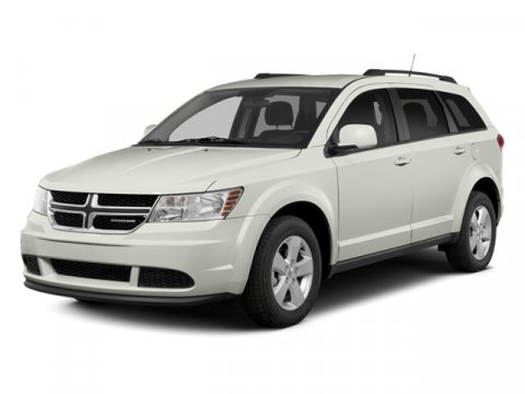 2014 Dodge Journey SXT White V6 36 L Automatic 5 miles  BLACK PREMIUM CLOTH LOW-BACK BUCKET SE