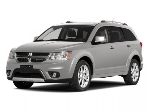 2014 Dodge Journey RT WhiteBlackRed V6 36 L Automatic 5 miles  BLACKRED LEATHER TRIMMED SEA