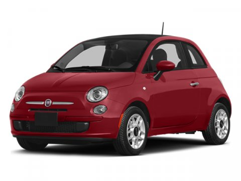2014 FIAT 500 Pop Rosso RedGrigio V4 14 L Automatic 4 miles FIAT brings you Italian styling