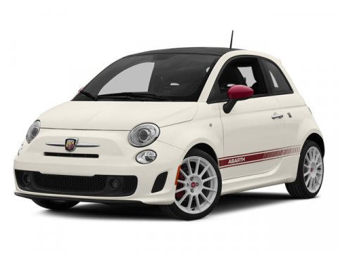 2014 FIAT 500 Abarth Bianco WhiteNero V4 14 L Manual 4 miles Driving just got fun again FIA