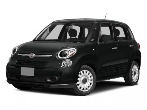 2014 FIAT 500L Easy Blu Chiaro Light BlueBlackCementite V4 14 L Automatic 4 miles The FIAT