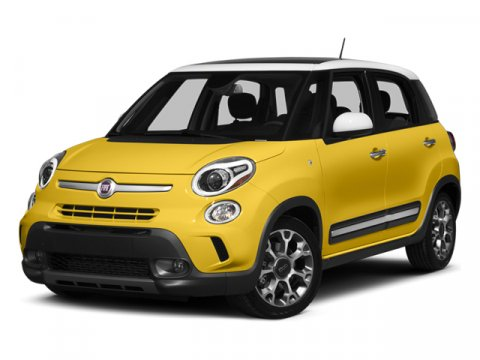 2014 FIAT 500L Trekking Verde Bosco Perla Forest GreenMARRONE V4 14 L Automatic 4 miles The