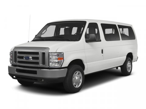 2014 Ford Econoline Wagon E-350 XLT 12 Passenger RWD Oxford WhiteMedium Pebble V8 54 L Automati
