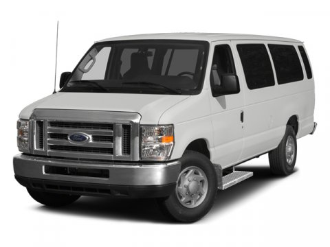 2014 Ford Econoline Wagon E-350 XLT 15 Passenger RWD WhiteMedium Flint V8 54 L Automatic 31789