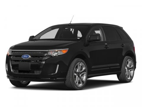 2014 Ford Edge Sport Ruby Red Metallic Tinted ClearcoatBLACK V6 37 L Automatic 4 miles  DRIVER