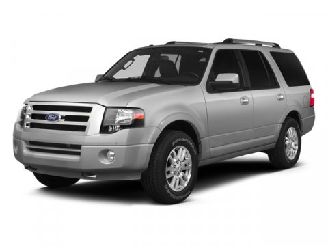 2014 Ford Expedition XLT Oxford White4C MONOTONE LEATHER BUCKET SEATS CAMEL V8 54 L Automatic 2