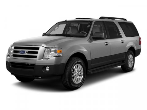 2014 Ford Expedition EL King Ranch White Platinum Metallic Tri-CoatCharcoal Black wRed V8 54 L