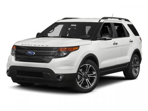 2014 Ford Explorer Sport White Platinum Metallic Tri-CoatCw Perforated Lthr HeatedCooled Charcoal