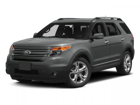 2014 Ford Explorer Limited White Platinum Metallic Tri-CoatCharcoal Black wPecan V6 35 L Automa