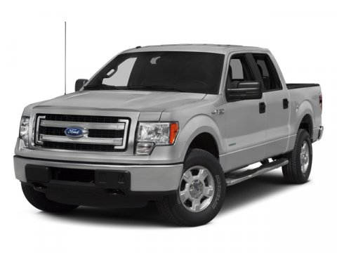 2014 Ford F-150 Super Crew XLT 4X4 Oxford WhiteSteel Gray V8 50 L Automatic 1917 miles FORD F