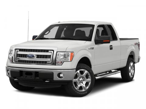 2014 Ford F-150 XL Oxford WhiteVINYL 402040 WMAN DR LUMBAR STEEL GRAY INTERIOR V6 37 L Automa