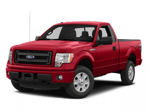 2014 Ford F-150 Oxford WhiteAs Vinyl 402040 WMan Dr Lumbar Steel Gray Interior V6 37 L Automa