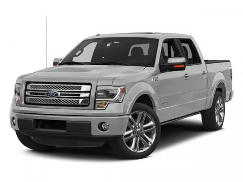 2014 Ford F-150 Limited White Platinum Metallic Tri-CoatTB LIMITED LEATHER BUCKET SEATS BLACK INTE